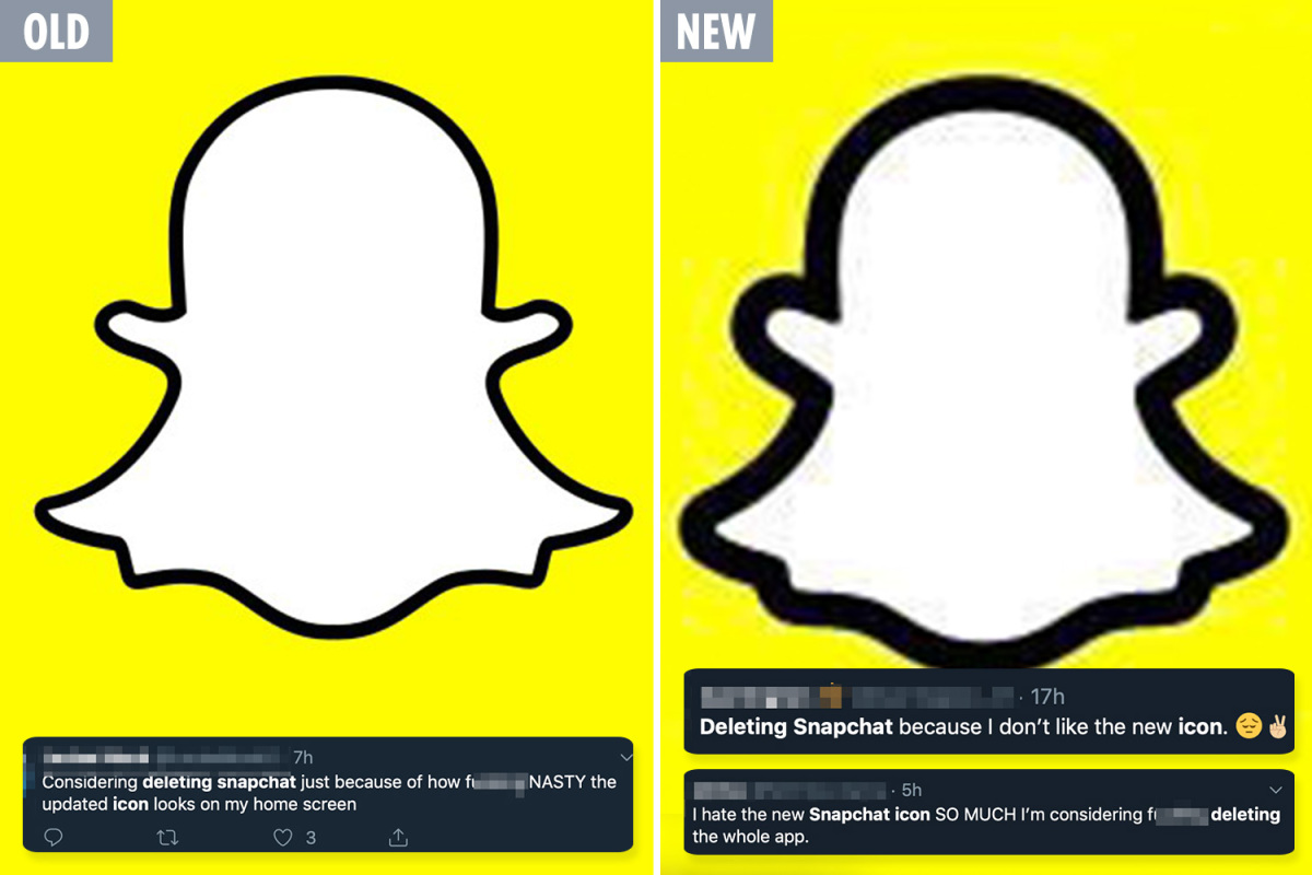 New Snapchat icon \'so ugly\' that users are DELETING the app.