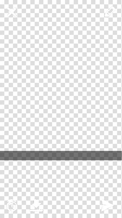 Fake Snapchat Screenshot Template, blue bar transparent.