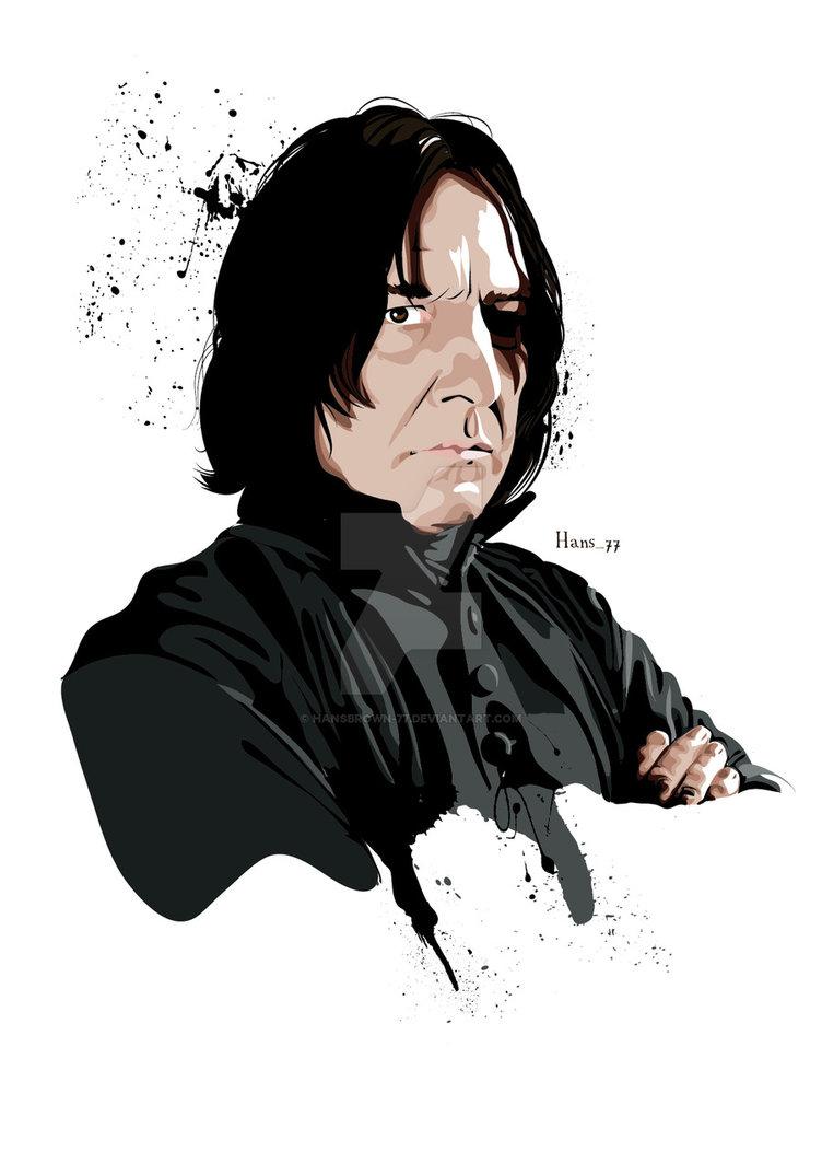 60+ Severus Snape Clipart.