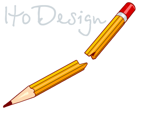 Broken Pencil Clipart.