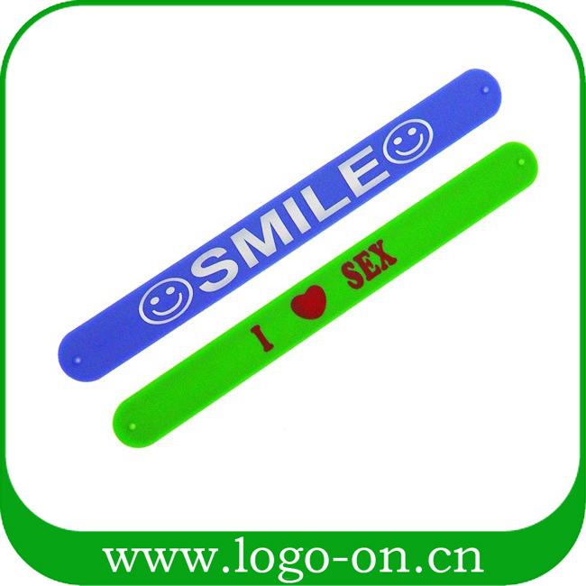 Silicone Rubber Snap Bracelets, Silicone Rubber Snap Bracelets.