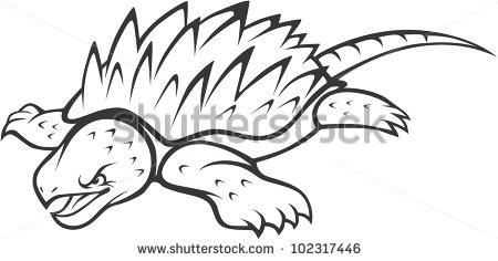 Snapping Turtle Stock Images, Royalty.