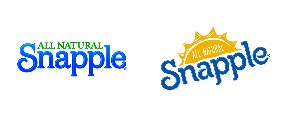 Brand New: New Logo and Packaging for Snapple by CBX.
