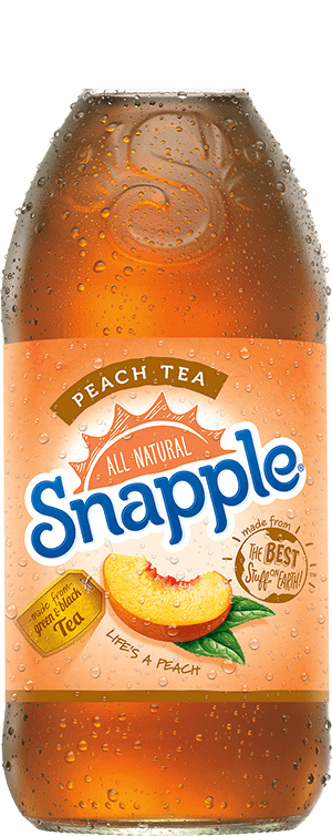 Snapple Tea and Juices.