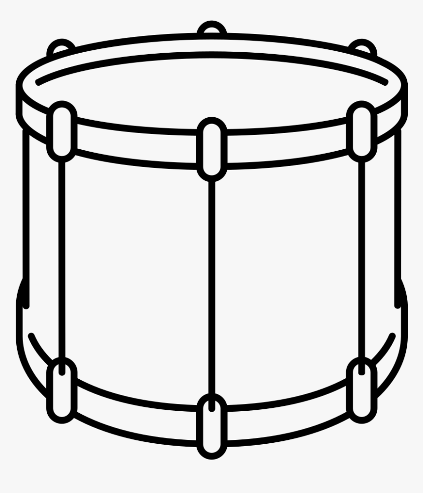 Percussion Instrument Clipart Black And White.
