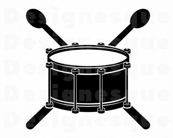 Drum Logo SVG, Snare Drum Svg, Drum Clipart, Drum Files for.
