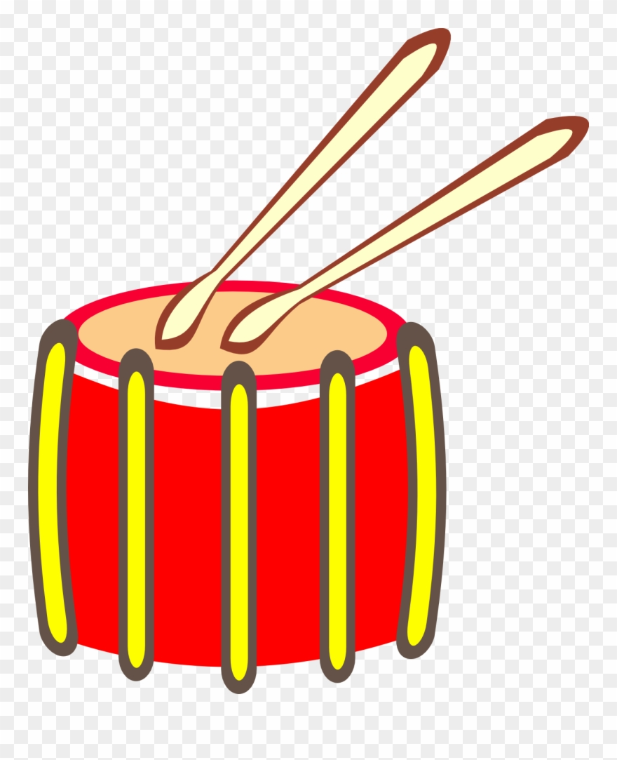 Free To Use Public Domain Drums Clip Art.