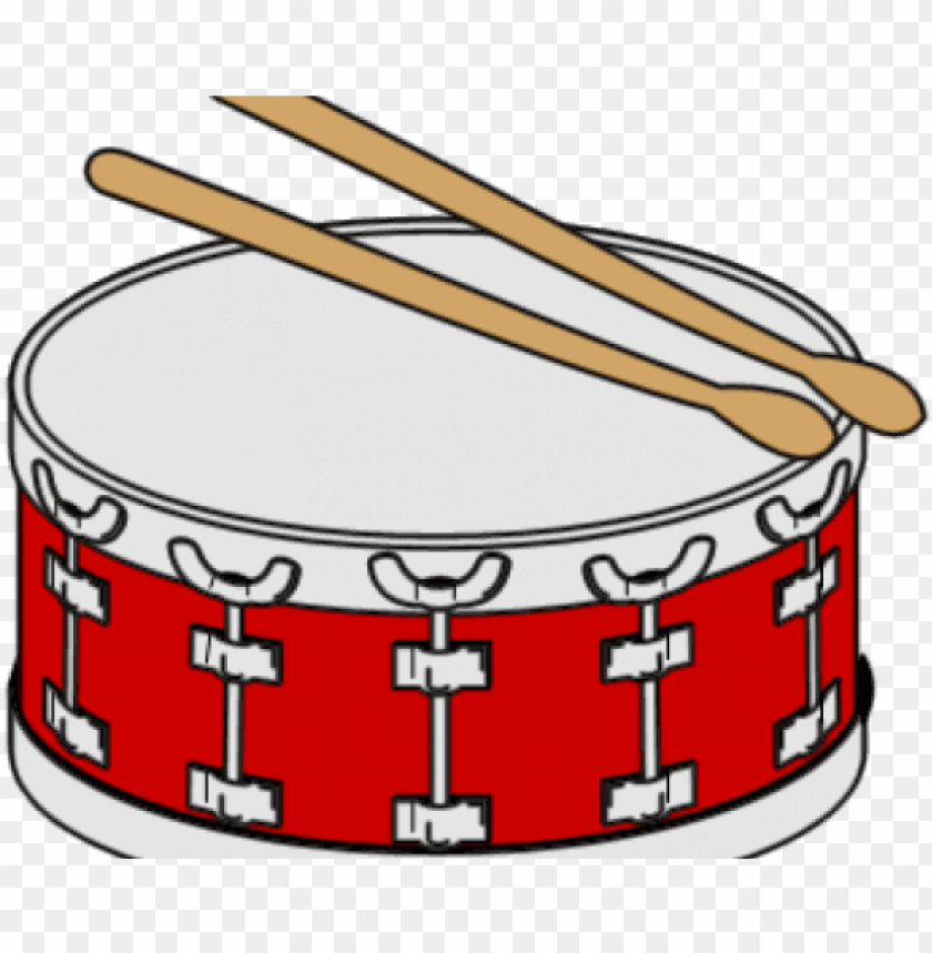snare drum clipart PNG image with transparent background.