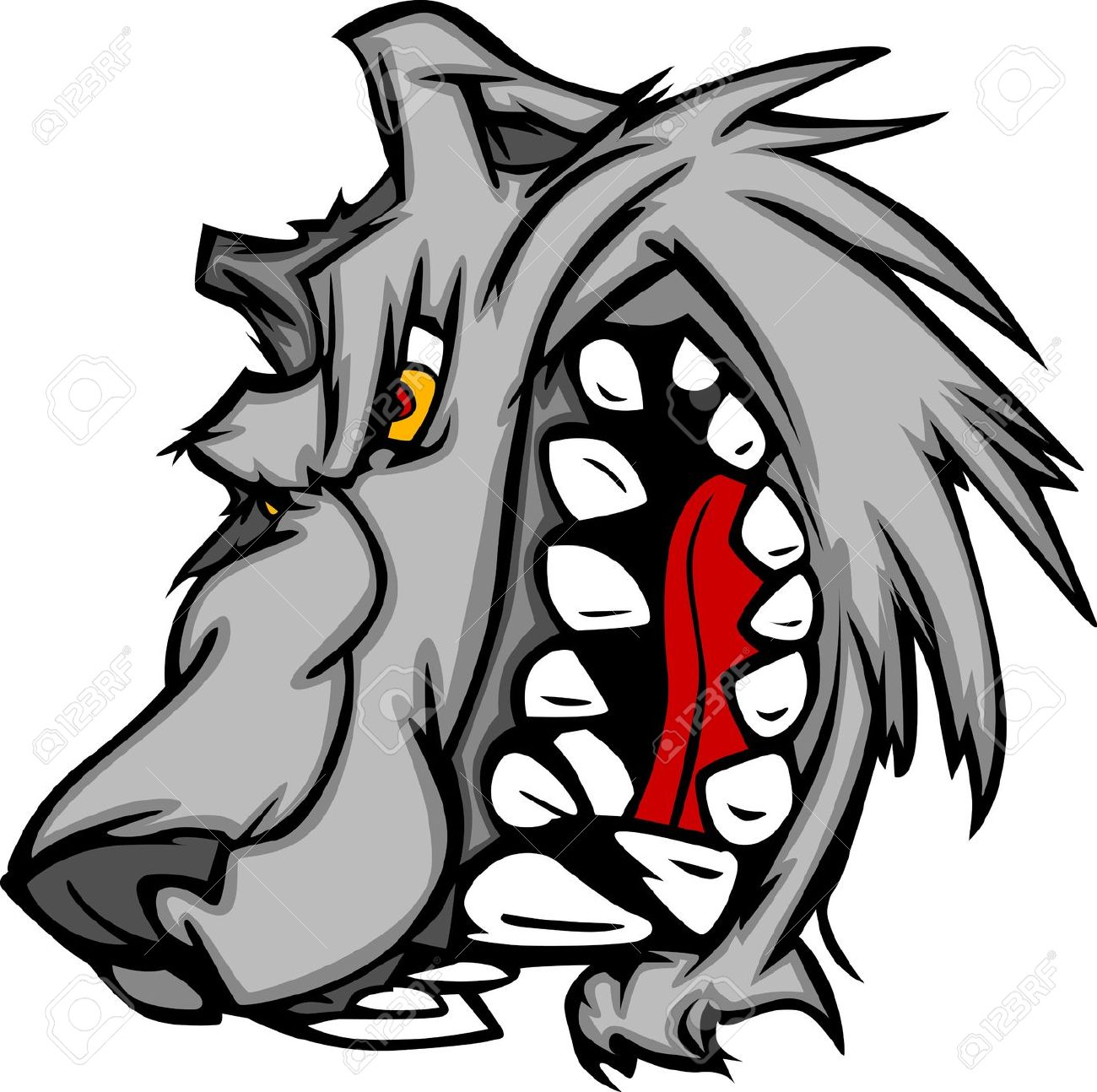 605 Snarling Stock Illustrations, Cliparts And Royalty Free.