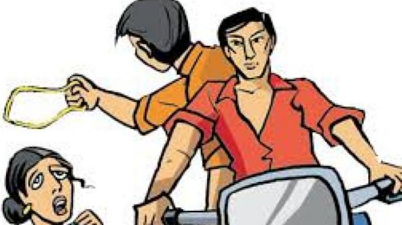 3 held for snatching chains in Thiruvananthapuram.