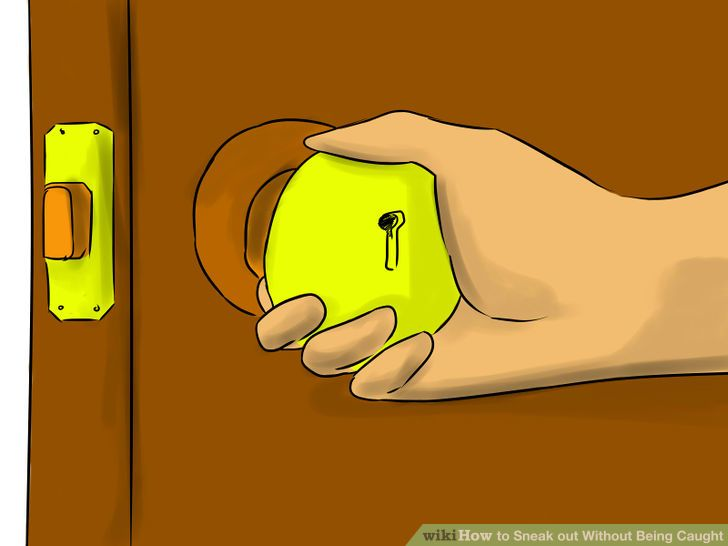 How to Sneak out Without Being Caught (with Pictures).