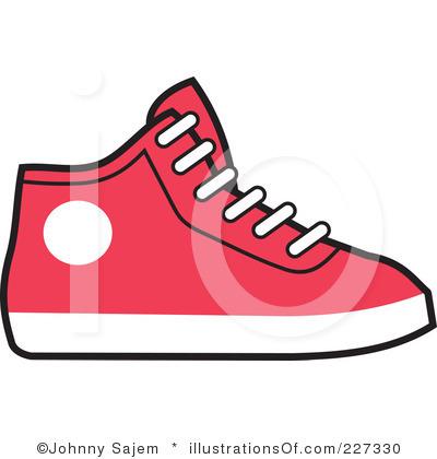 Free sneaker clip art.