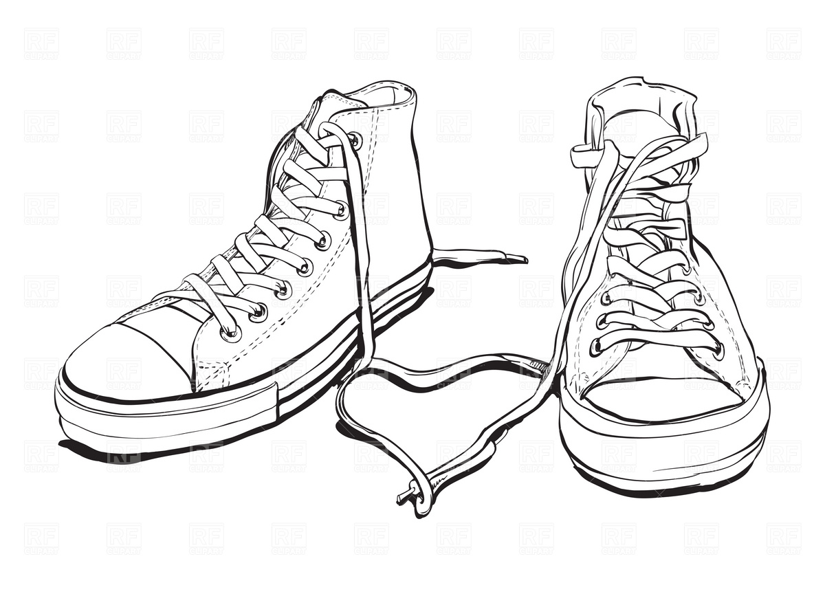 Sneaker Free Clipart.