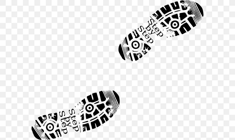 Shoe Footprint Boot Sneakers Clip Art, PNG, 600x488px, Shoe.