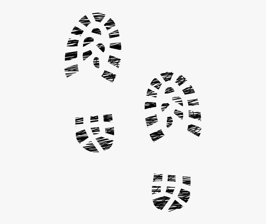 Sneaker Clipart Footprint.