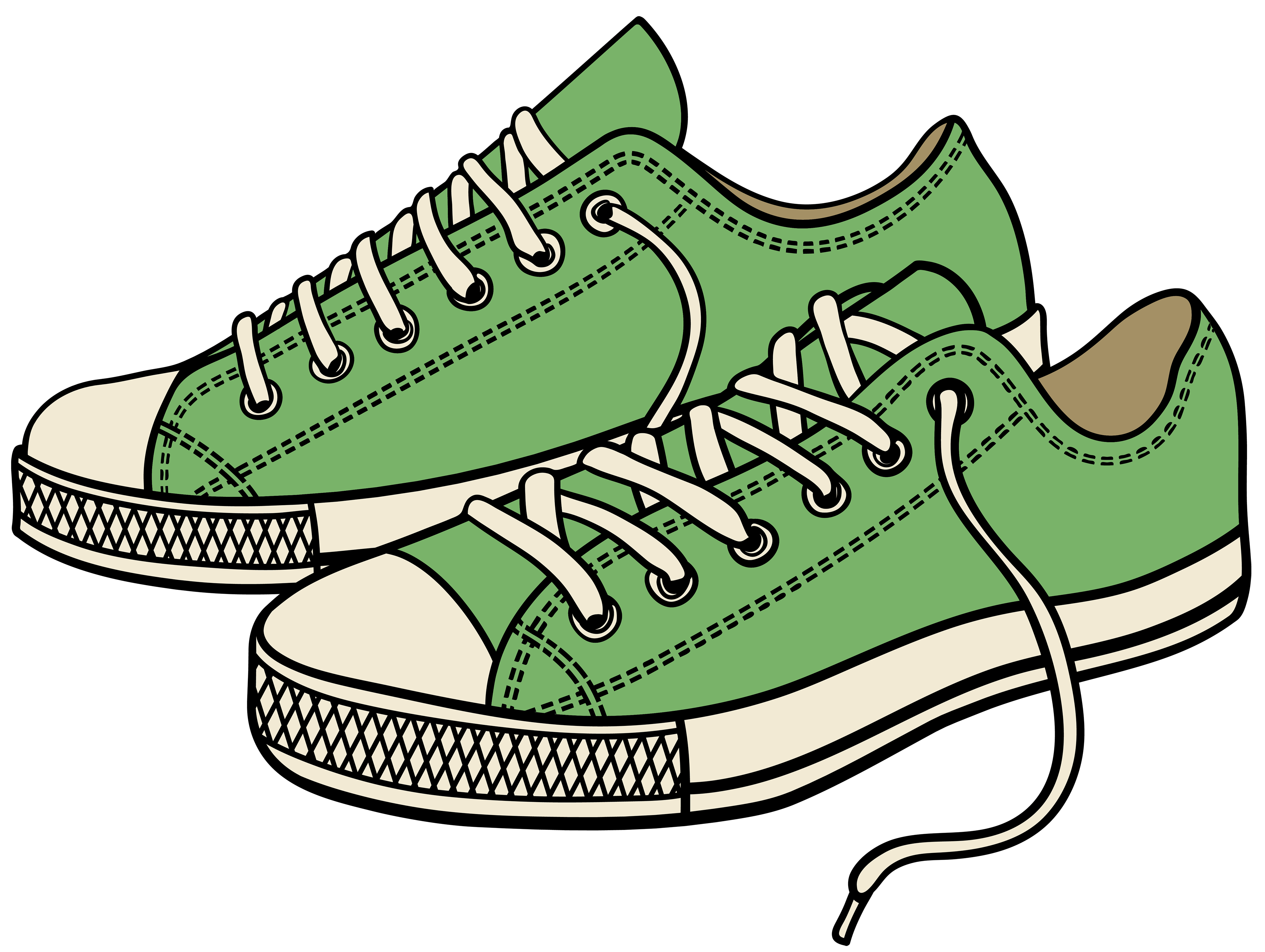 Sneakers clipart - Clipground