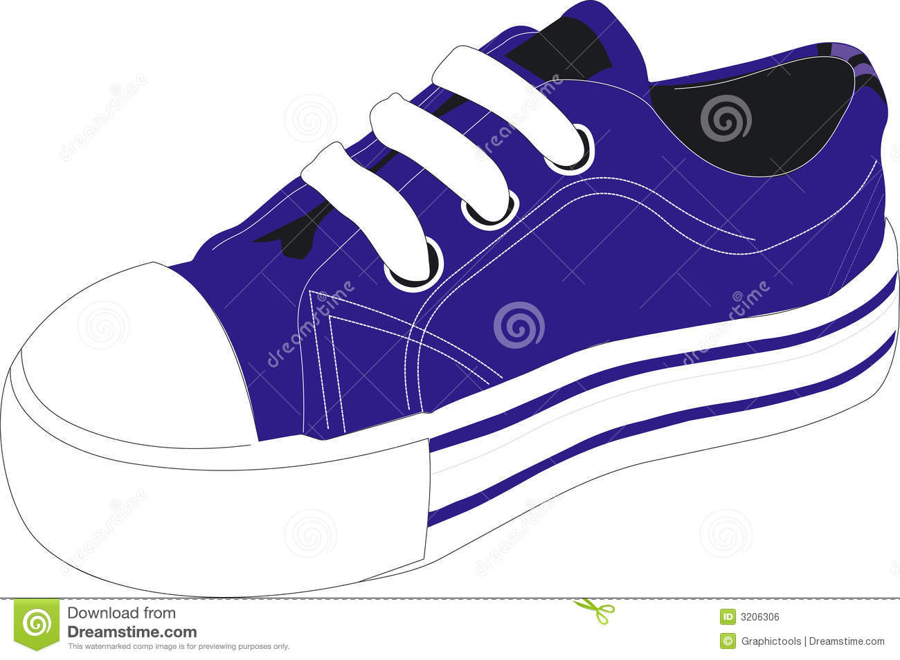 Tennis Shoe Clip Art & Tennis Shoe Clip Art Clip Art Images.