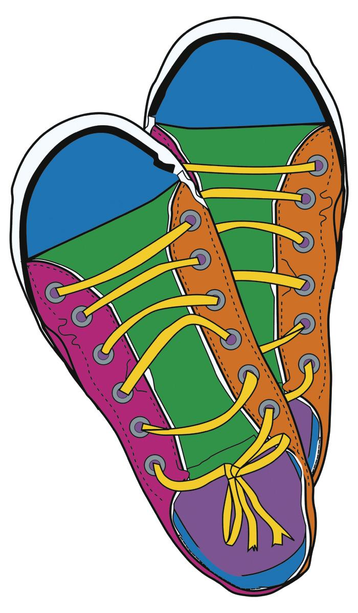 Sneakers Clip Art Free.