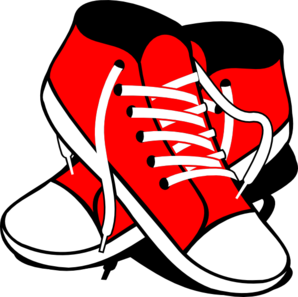 Sneakers Clip Art at Clker.com.