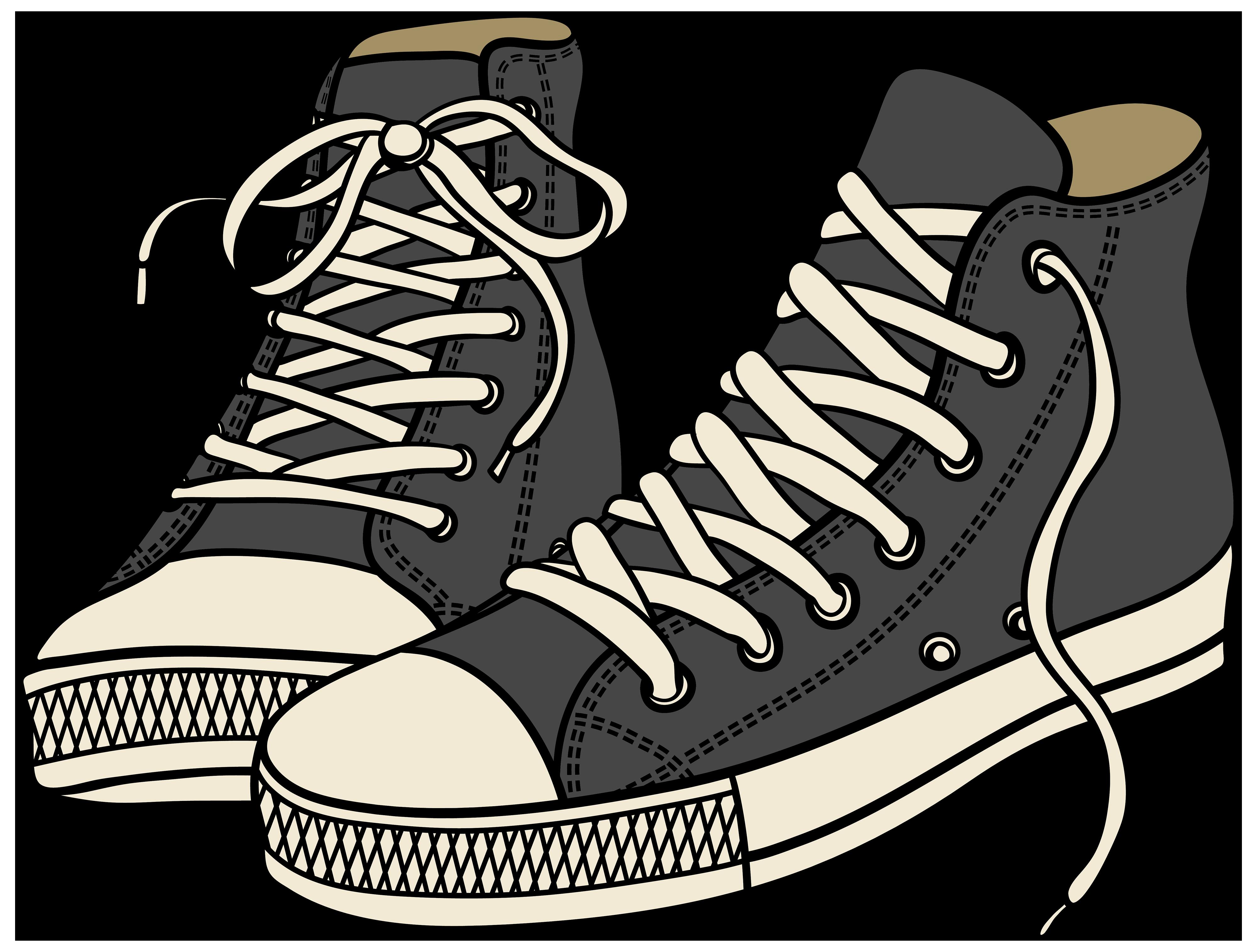 Clip Art Sneakers.