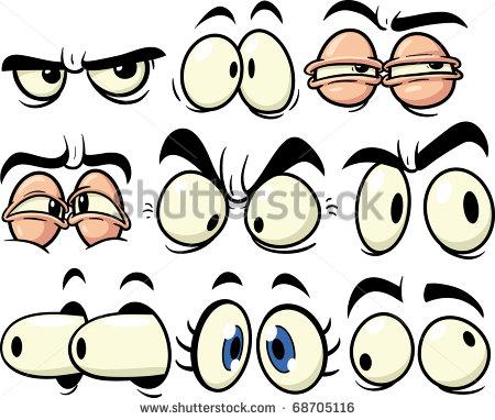 Sexy Eyes Clip Art Animation.