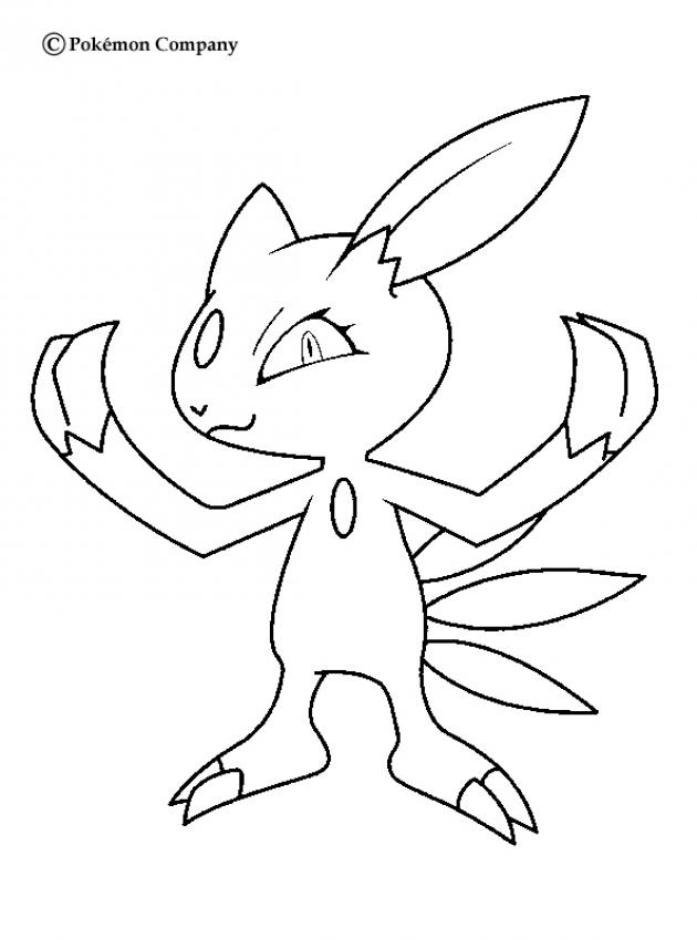 Sneasel clipart.