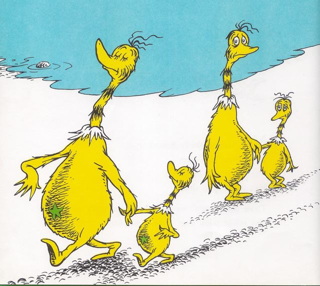 Sneetches Clipart.