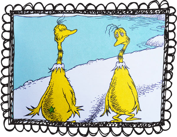 Sneetches Star Clipart.