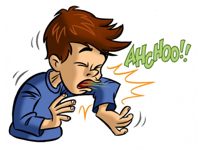 Clipart dog sneeze.