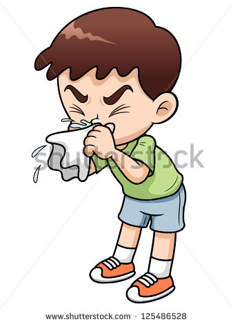 Kid Sneezing Stock Photos, Royalty.