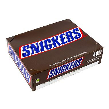 Snickers Candy Bars (1.86 oz., 48 ct.).