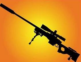 Free Sniper Rifle Clipart.