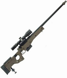 Sniper rifle clipart.