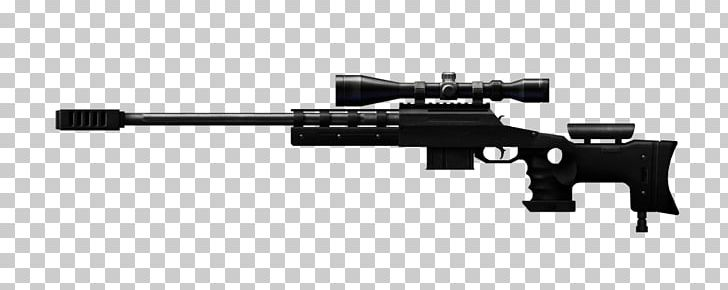 Sniper Rifle Firearm Weapon Accuracy International AWM PNG.