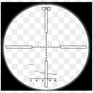 Sniper Scope PNG Transparent For Free Download.