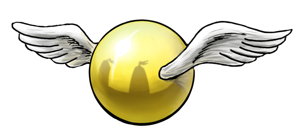 Golden Snitch Clipart.