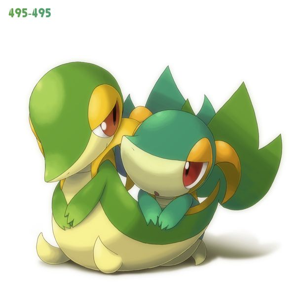 17 Best images about Snivy on Pinterest.