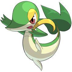 Pokemon Snivy Clipart.