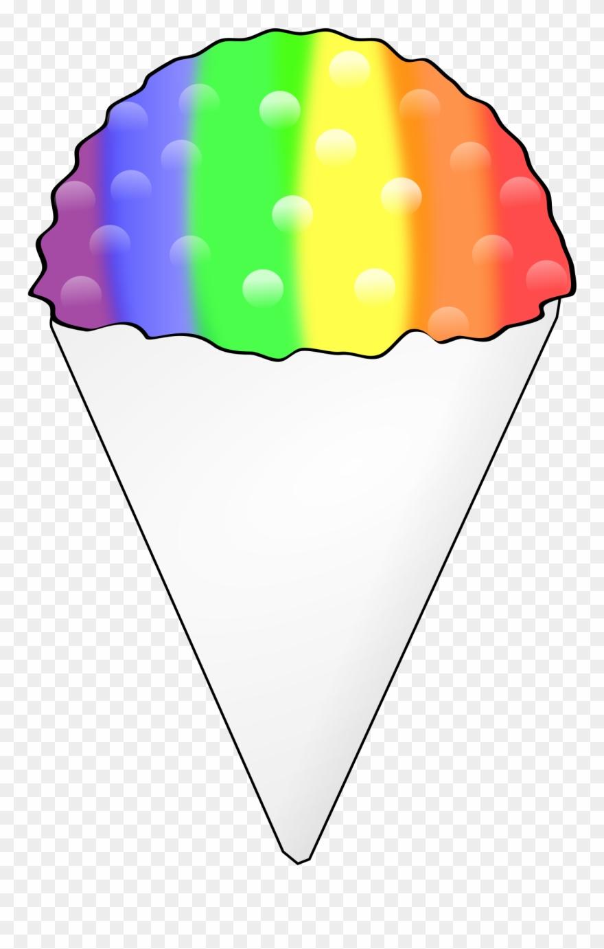 Snow Cone Clipart 3 Clip Art.
