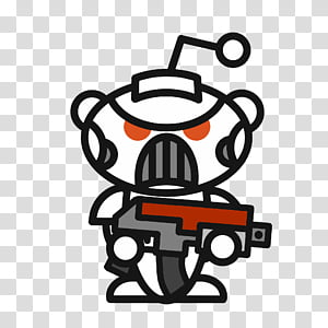Snoo transparent background PNG cliparts free download.