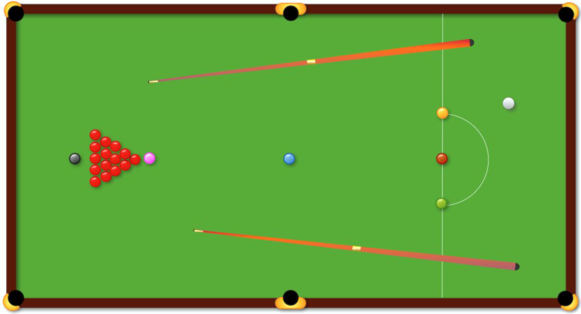 Snooker Table Clip Art.