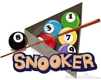 Snooker clipart.