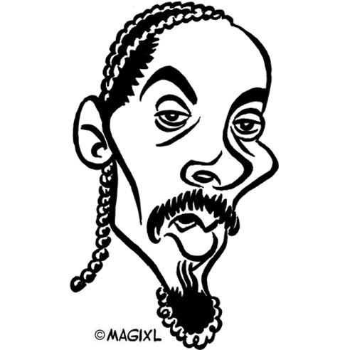 Snoop dog clipart.
