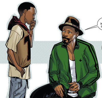 What's the Dizzle? Snoop Dogg in Ultimate Comics Spider.