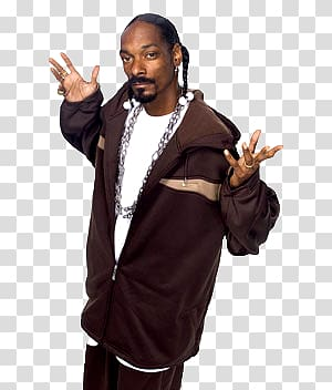 Snoop Dogg transparent background PNG clipart.