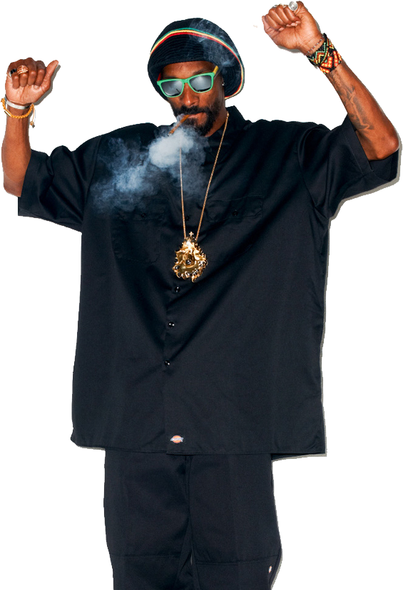 Snoop Dogg PNG Image.