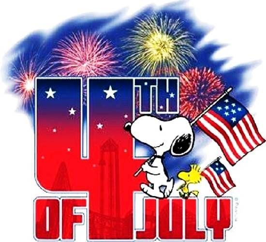 Happy 4th of july snoopy snoopy 4th of july clip art free.