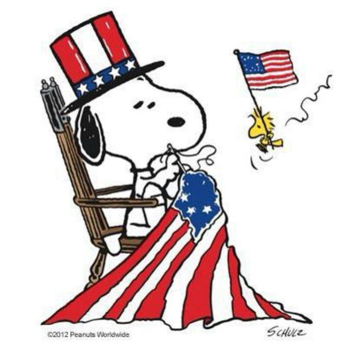 Snoopy 4th of july clipart 6 » Clipart Station.