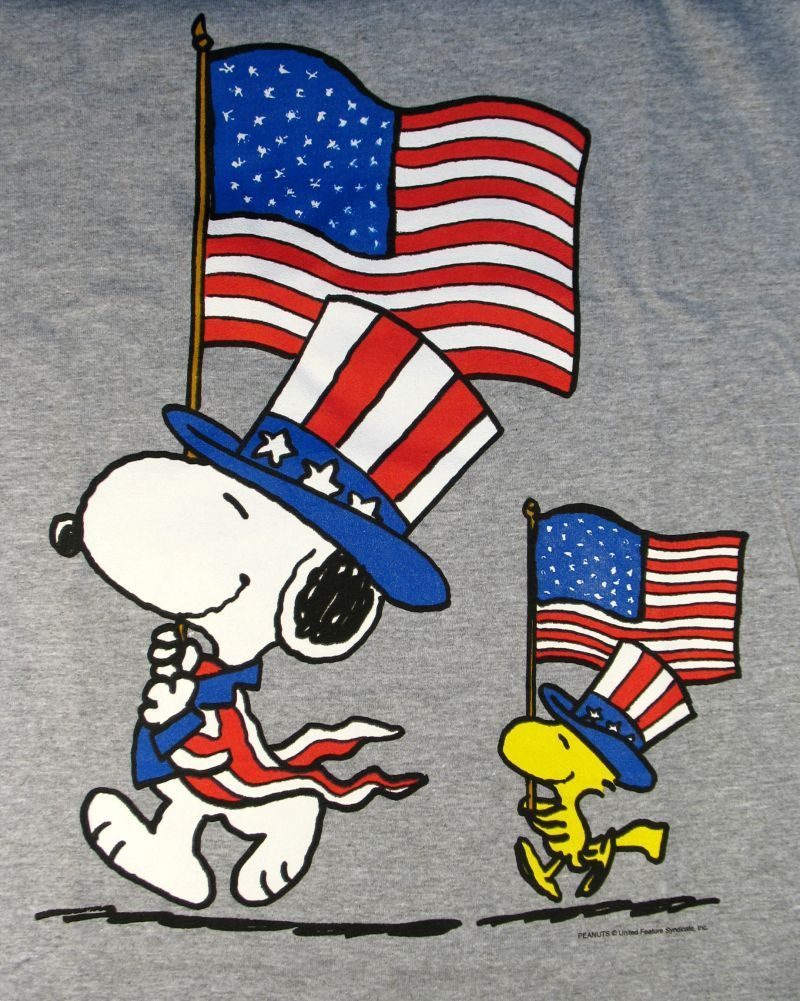 30+ Snoopy Independence Day Wallpapers.