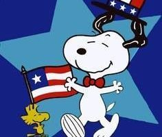 Snoopy 4th of july clipart 3 » Clipart Portal.
